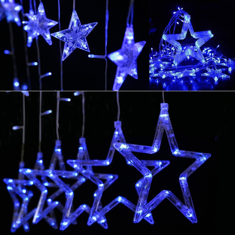 Dây đèn led nháy hình ngôi sao