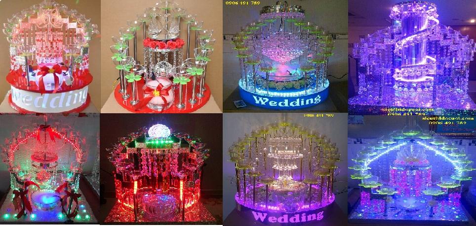Tháp ly đám cưới