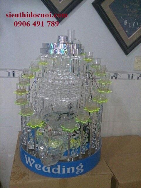 Tháp ly champagne mẫu TL-6